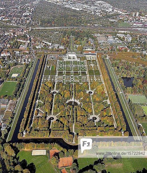 Großer Garten  Herrenhäuser Gärten  Barockgarten  Schloss  Herrenhausen  Hannover  Niedersachsen