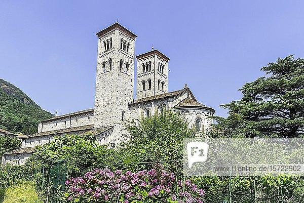 Basilica di Sant'Abbondio  Como  Provinz Como  Italien  Europa