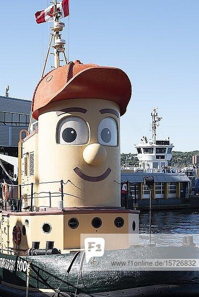 Theodore Too  Schleppschiff im Hafenviertel von Halifax  Nova Scotia  Kanada  Nordamerika