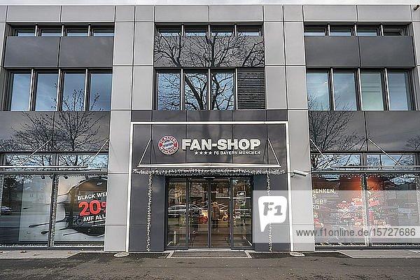 Fan-Shop  FC Bayern  Säbener Straße  München  Oberbayern  Bayern  Deutschland  Europa