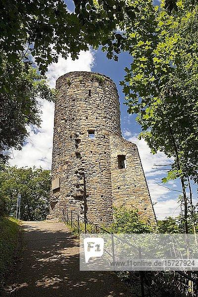 Burg Volmarstein  Wetter  Ruhrgebiet  Nordrhein-Westfalen  Deutschland  Europa