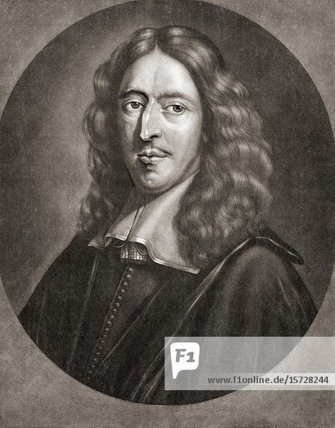 Johan de Witt aka Jan de Witt  1625-1672. Dutch politician  Grand Pensionary of Holland.