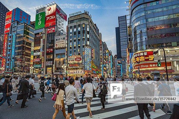 Kabukicho. Red-light district. Shinjuku district  Tokyo  Japan  Asia.