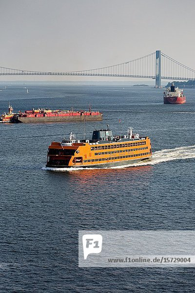 The Staten Island Ferry is one of the last remaining vestiges of an entire ferry system in New York City.