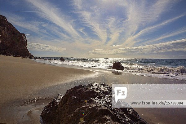 Pristine Malibu  California  beach  used in blockbuster Hollywood movies  is accessible to anyone.