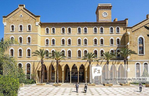 AUB  American University Beirut  Beirut  Lebanon.
