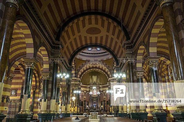Iglesia de Nuestra Señora de las Nieves or Nuestra senora de las Nieves Church  Bogota  Colombia.