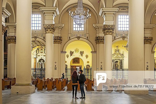 Catedral Primada de Colombia  Cathedral  Bogota  Colombia.