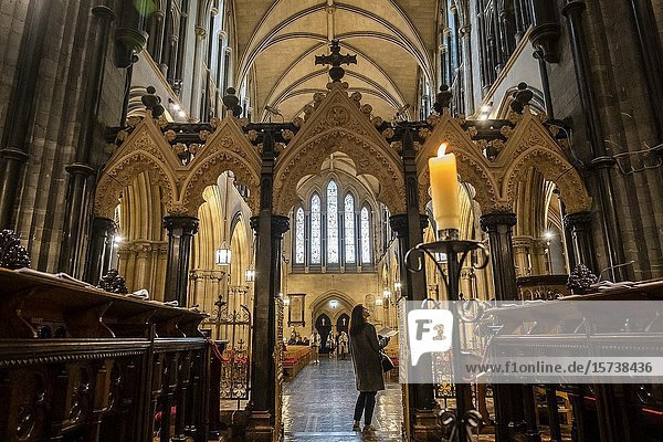 Christ Church Cathedral  Dublin  Ireland.