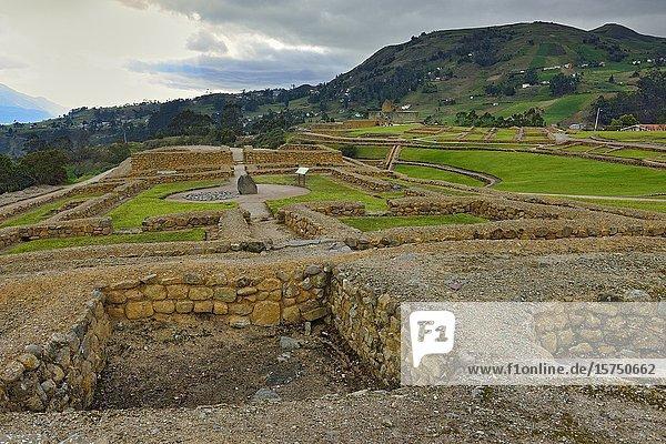 Ingapirca Archaeological Complex  Cañar  Ecuador.