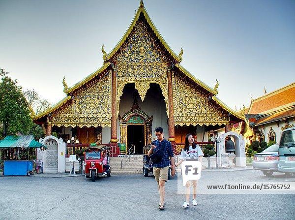 Wat Muen Ngoen Kong  Chiang Mai  Thailand.
