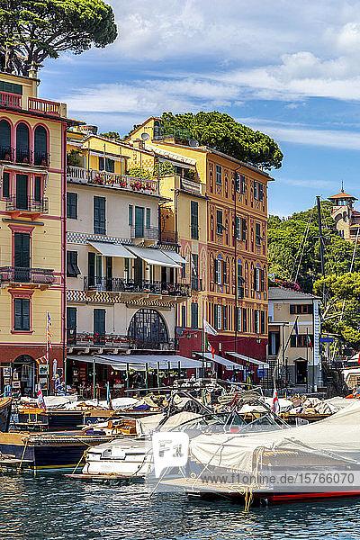 Italy  Portofino  Boats in marina