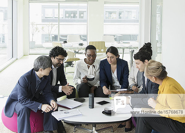 Geschäftsleute planen im Büro