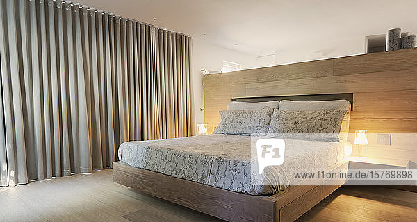 Modern home showcase interior bedroom