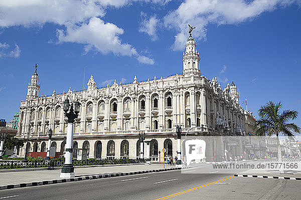 Grand Theater of Havana  Old Town; Havana  Cuba
