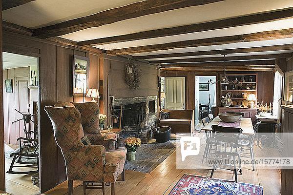 Interiors of living room