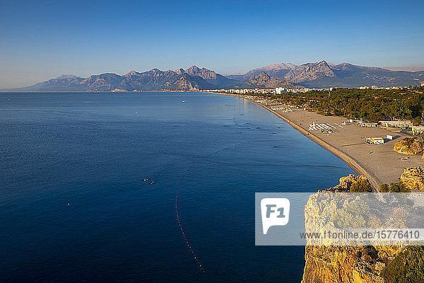 Konyaalti Beach  Antalya  Turkey  Asia Minor  Eurasia