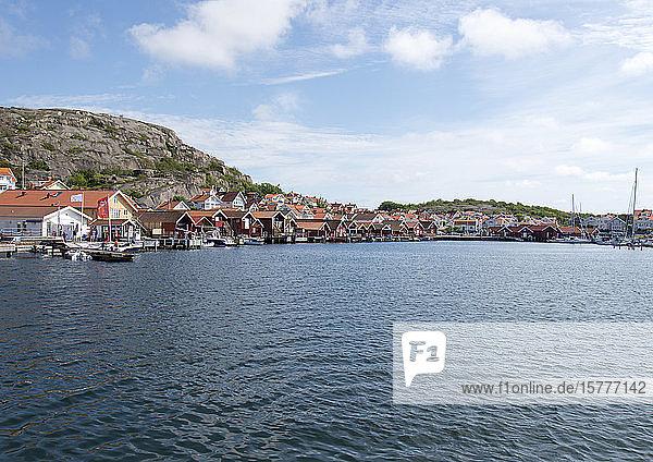Hunnebostrand  Västra Götalands  am Skagerrak  Schweden