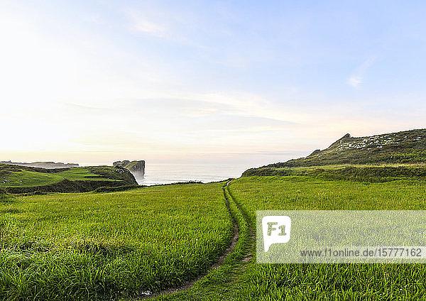 Atlantikküste  Asturien  Spanien