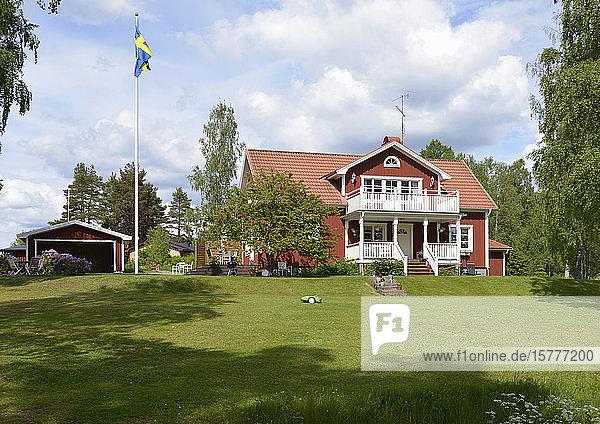 Schwedisches Wohnhaus  Götaland  Schweden