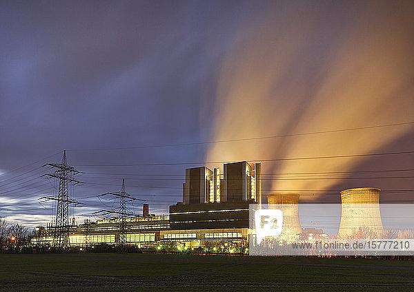 Kohlekraftwerk Weisweiler  NRW  BRD Kohlekraftwerk Weisweiler, NRW, BRD