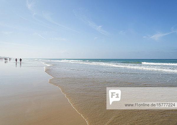 Sandstrand in Spanien  Costa de la Luz