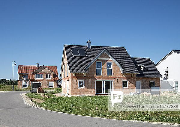 Neubauten  Einfamilienhäuser