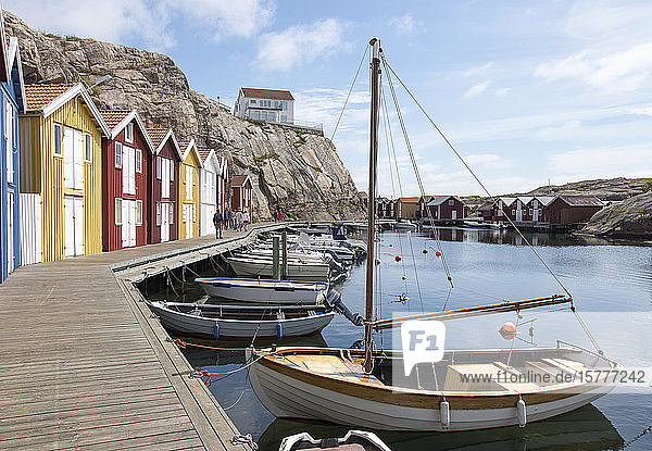 Smögen  Västra Götalands  am Skagerrak  Schweden