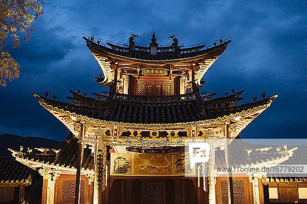 Sideng market  Shaxi  Yunnan  China