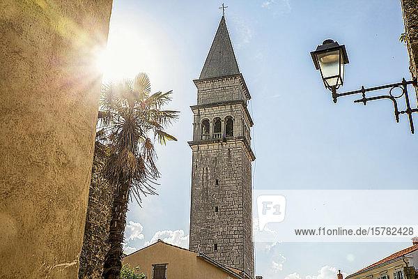 Romanische Kirche St. Rok in Pican  Istrien  Kroatien