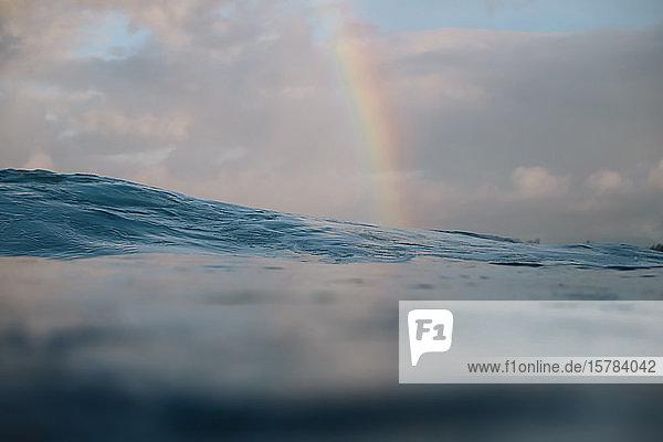Regenbogen  Bali  Indonesien