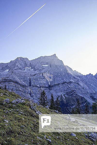 Karwendelgebirge im Herbst  Hinteriss  Österreich