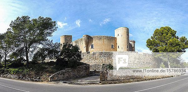 Spanien,  Balearen,  Mallorca,  Palma de Mallorca,  Schloss Bellver