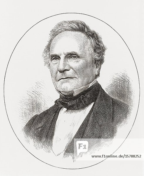 Charles Babbage  1791-1871. English polymath best known for his concept of a programmable computer. Sometimes called Father of the Computer.