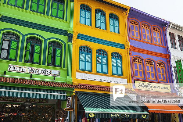 Shops on Arab Street  Singapore  Republic of Singapore.