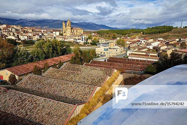 Marques de Riscal winery  Elciego  Alava  Rioja Alavesa  Basque Country  Spain  Europe