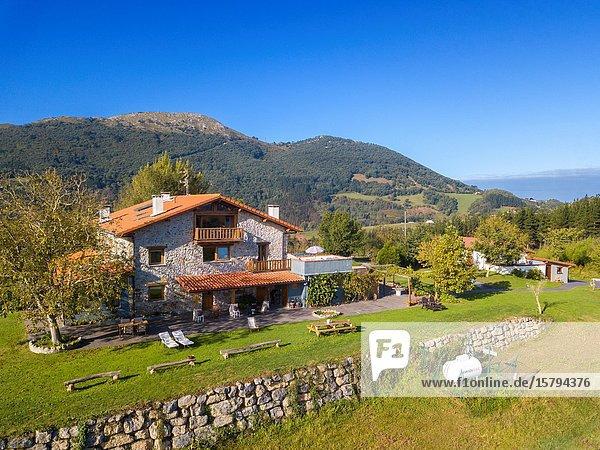 Apartment in rural house  Deba  Gipuzkoa  Basque Country  Spain  Europe