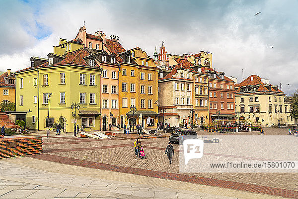 Stare Miasto in the old town  Warsaw  Poland