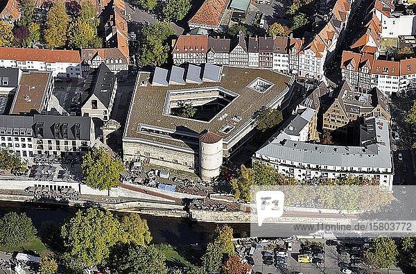 Historisches Museum  Beginenturm  Hohes Ufer  Hannover  Niedersachsen  Deutschland  Europa
