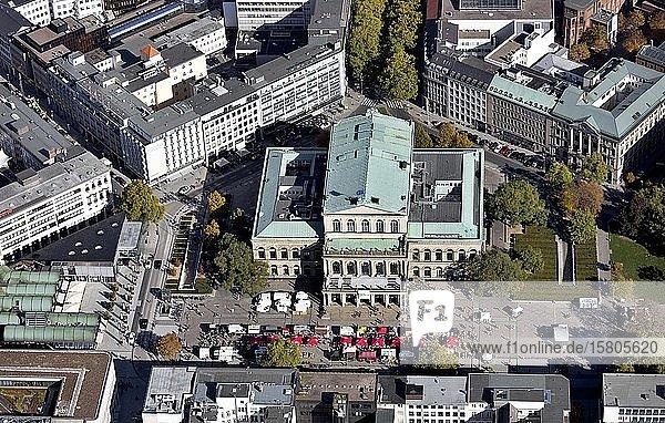 Opernhaus  Hannover  Niedersachsen  Deutschland  Europa