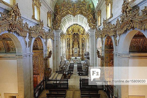 Kloster St. Martin von Tibaes  Hauptkapelle  Braga  Minho  Portugal  Europa