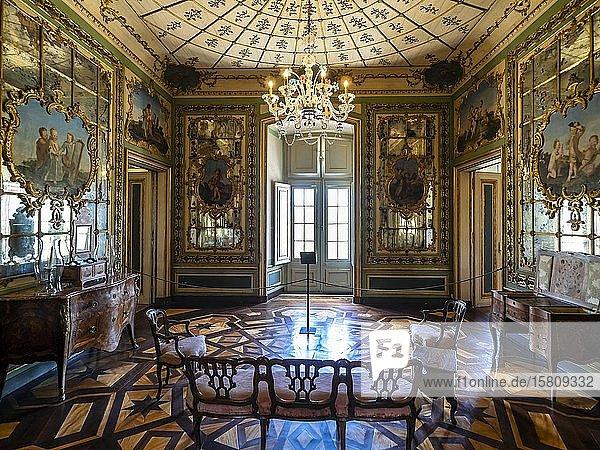 Innenansicht Palacio Nacional de Queluz  Queluz  Lissabon  Portugal  Europa