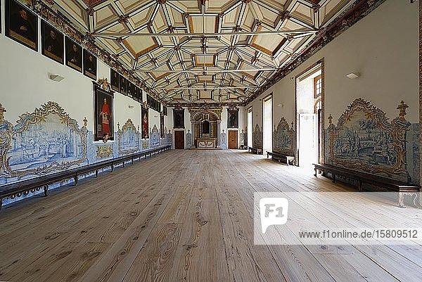 Kloster St. Martin von Tibaes  Kapitelsaal  Braga  Minho  Portugal  Europa