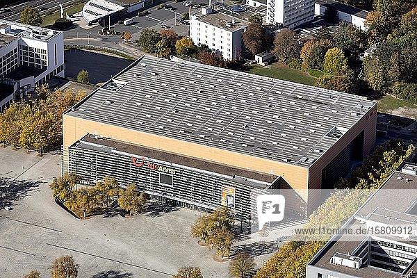 TUI Arena  multifunktionale Veranstaltungs- und Konzerthalle  Expo 2000  Messegelände  Hannover  Niedersachsen  Deutschland  Europa