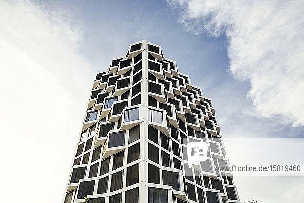 Modernes Wohnhochhaus in München  Deutschland