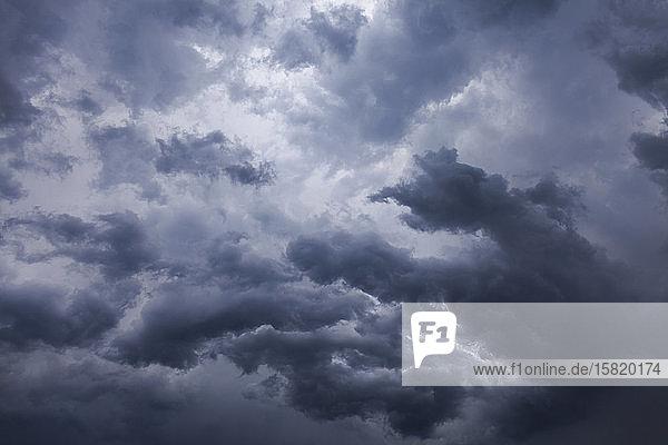 Italien  Graue Sturmwolken Italien, Graue Sturmwolken