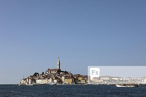 Croatia  Istria  Rovinj  View of the city