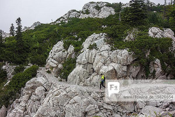 Premužić Trail (Premužićeva staza)  Wanderung durch den Kern Kroatiens's Nord-Velebit-Nationalpark.