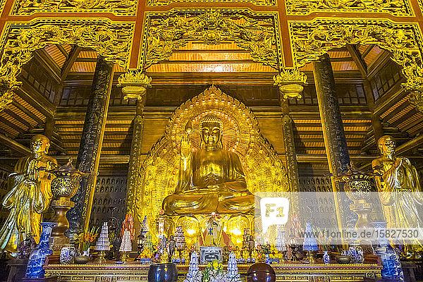 Bai Dinh-Tempel  Provinz Ninh Binh  Vietnam