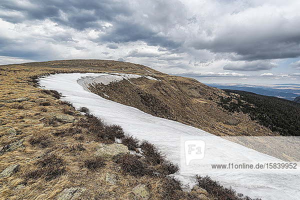 Schneelandschaft in der Pecos-Wildnis